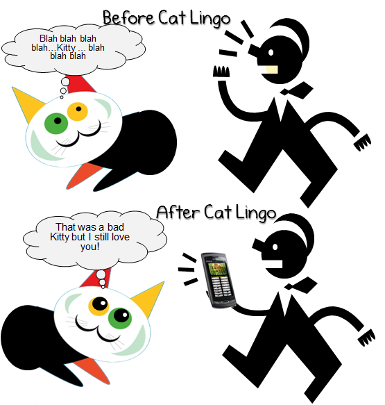 cat lingo - talk to your cat, and make your life easier